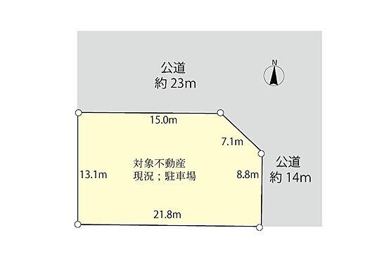 土地-船橋市夏見台3丁目 店舗・事業用に最適な土地