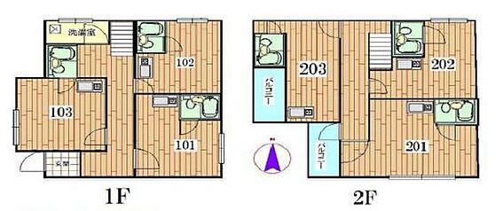 アパート-板橋区蓮根3丁目 光ハウス蓮根・ライズプランニング