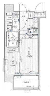 マンション(建物一部)-福岡市南区大橋2丁目 間取り