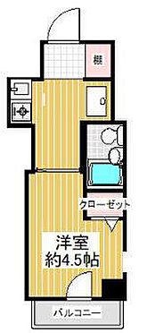 マンション(建物一部)-大阪市東住吉区山坂1丁目 間取り