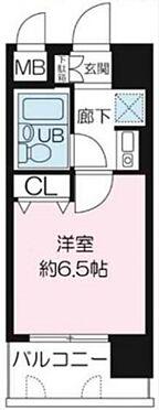 区分マンション-大阪市福島区海老江5丁目 水回りの動線をまとめた人気のプラン