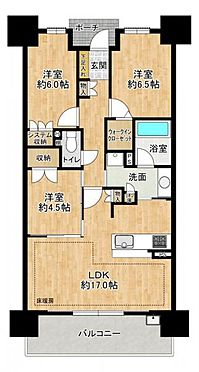 中古マンション-小牧市小牧2丁目 LDK床暖房完備。使いやすい3LDKです。