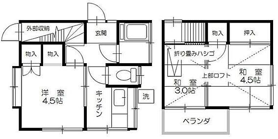 アパート-松戸市古ケ崎2丁目 間取り