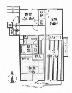マンション(建物一部)-横浜市青葉区市ケ尾町 間取り