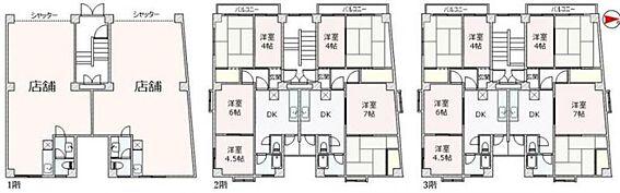 マンション(建物全部)-大田区大森北3丁目 間取り
