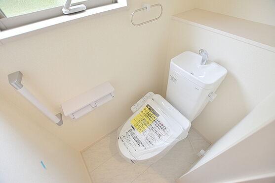 新築一戸建て-仙台市青葉区東勝山2丁目 トイレ