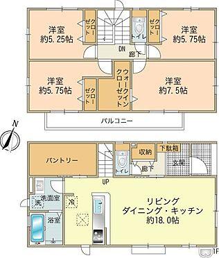 新築一戸建て-八王子市南大沢2丁目 3号棟4,880万円