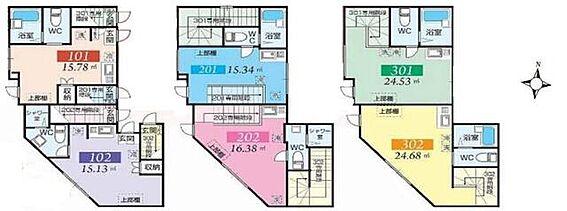 アパート-江東区亀戸8丁目 間取り