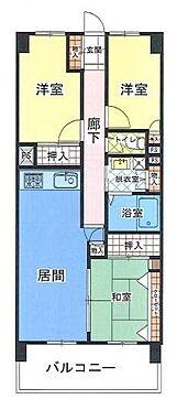 区分マンション-神戸市長田区房王寺町2丁目 間取り