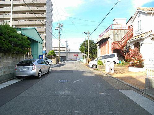 アパート-名古屋市港区十一屋3丁目 前面道路