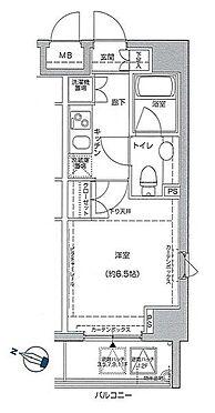 マンション(建物一部)-葛飾区亀有5丁目 間取り