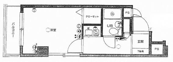 中古マンション-品川区小山2丁目 間取り