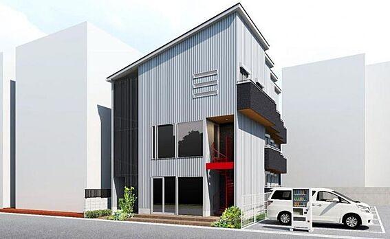 アパート-横浜市旭区中希望が丘 外観
