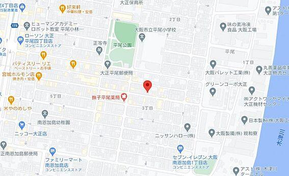 アパート-大阪市大正区平尾3丁目 間取り