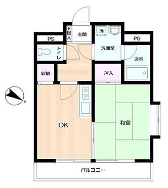 マンション(建物一部)-横浜市中区弥生町5丁目 間取り