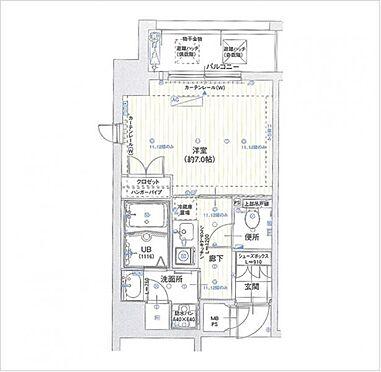 マンション(建物一部)-大阪市西区京町堀1丁目 使いやすい間取り・洋室約7帖・上層階角部屋