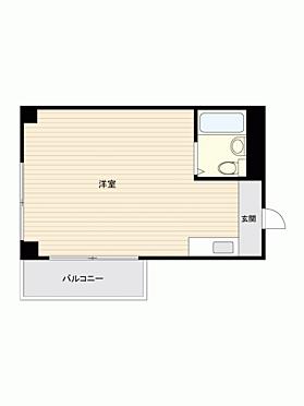 マンション(建物一部)-新宿区大京町 間取り