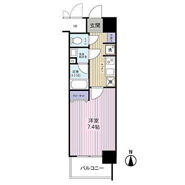 中古マンション-江東区新大橋3丁目 間取り