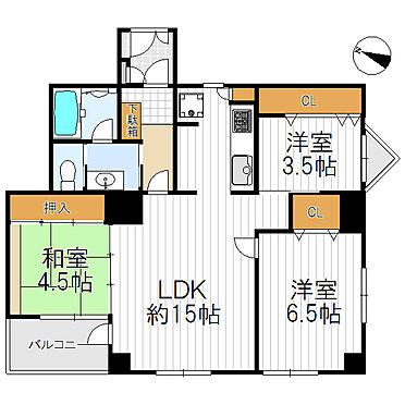 マンション(建物一部)-神戸市垂水区平磯3丁目 間取り