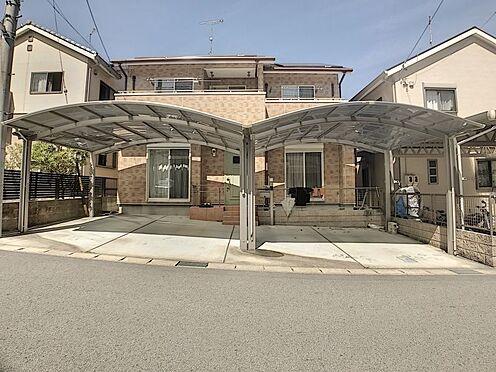 戸建賃貸-岡崎市山綱町字上中野 駐車スペース4台可能なのでお車を多くお持ちの方も安心!