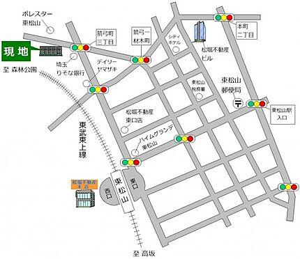 中古マンション-東松山市箭弓町3丁目 地図