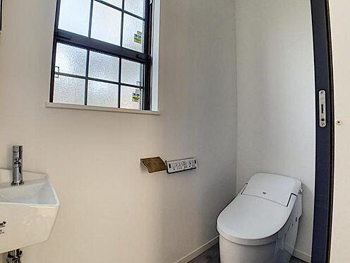 新築一戸建て-名古屋市守山区小幡北 手洗い場が有るトイレ