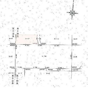 アパート-帯広市東十四条南3丁目 地図