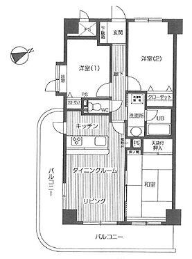 中古マンション-入間市高倉5丁目 間取り