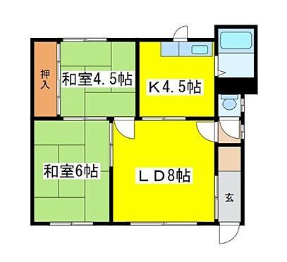 アパート-釧路市鳥取北9丁目 間取り