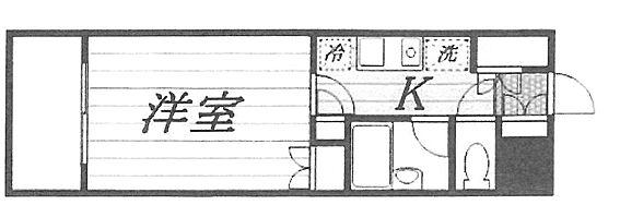 区分マンション-新潟市中央区南笹口1丁目 間取り