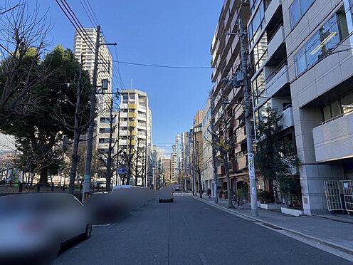 区分マンション-大阪市中央区南新町2丁目 前面道路