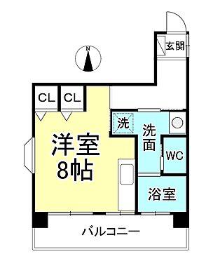 マンション(建物一部)-長野市大字鶴賀権堂町 間取り