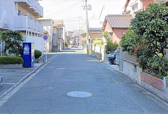 区分マンション-北九州市小倉北区大畠1丁目 前面道路写真。