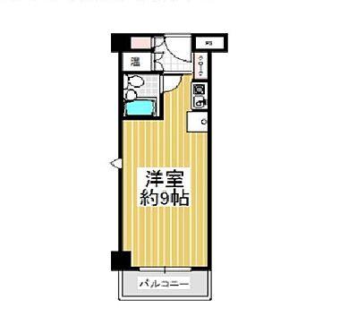区分マンション-大阪市中央区瓦町4丁目 間取り