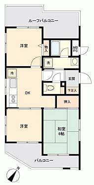 区分マンション-横須賀市浦賀6丁目 間取り