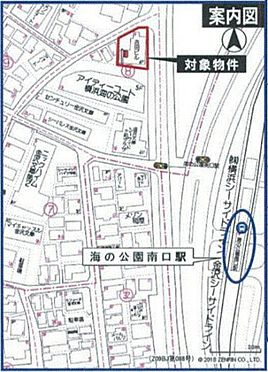 ビル(建物全部)-横浜市金沢区寺前2丁目 地図