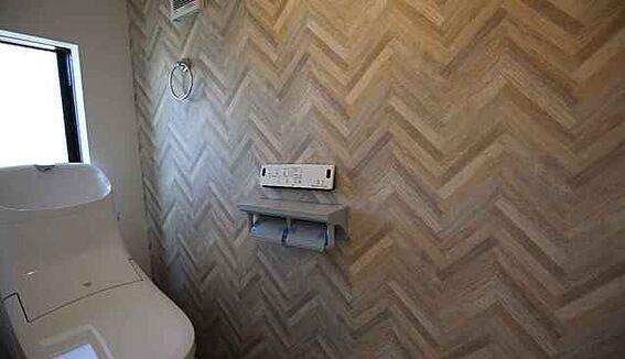 新築一戸建て-京都市山科区小山南溝町 トイレ
