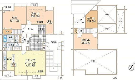 中古マンション-八王子市南大沢5丁目 6階、7階部分メゾネットタイプ
