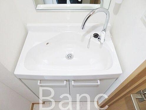 中古マンション-品川区旗の台2丁目 清潔な洗面台