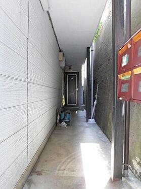 土地-品川区大井4丁目 古家(アパート 1階共用部分)