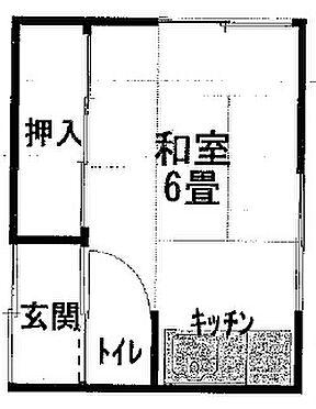 アパート-和歌山市新和歌浦 間取り
