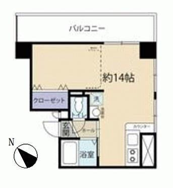 中古マンション-札幌市西区琴似一条1丁目 間取り