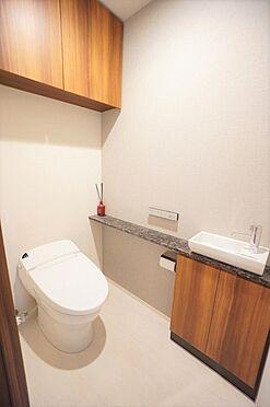 区分マンション-目黒区東が丘2丁目 トイレ