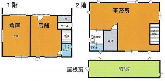 店舗事務所(建物全部)-千葉市花見川区犢橋町 事務所・店舗・倉庫のある貸事務所。