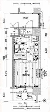 マンション(建物一部)-大阪市都島区東野田町5丁目 間取り