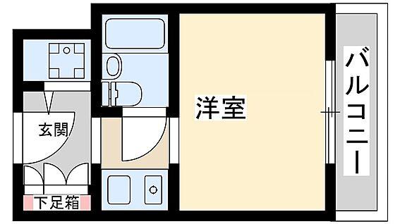マンション(建物一部)-大阪市淀川区西宮原3丁目 水回りと生活スペースがきちんと分かれています。
