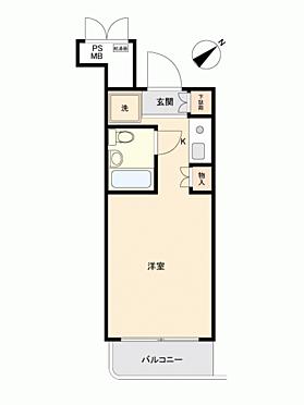 中古マンション-相模原市中央区富士見3丁目 間取り