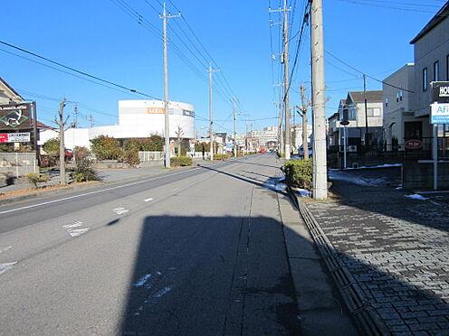 店舗付住宅(建物全部)-成田市公津の杜1丁目 前面道路です