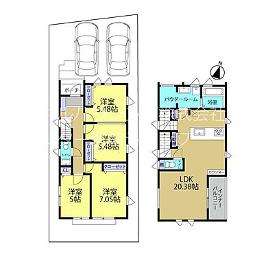 新築一戸建て-八王子市堀之内2丁目 快適な暮らしの為、入念に考え込まれた使い勝手良好の間取りです!