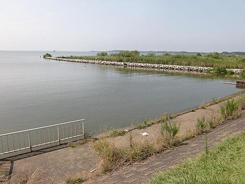 土地-稲敷市大島 前面湖畔2